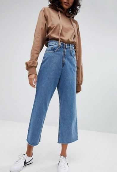 STYLENANDA Skater Jeans With Zip Fly